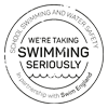 Swimming Stamp Logo